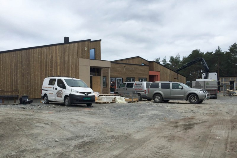 Byggeplassbesøk Peer Gynts vei