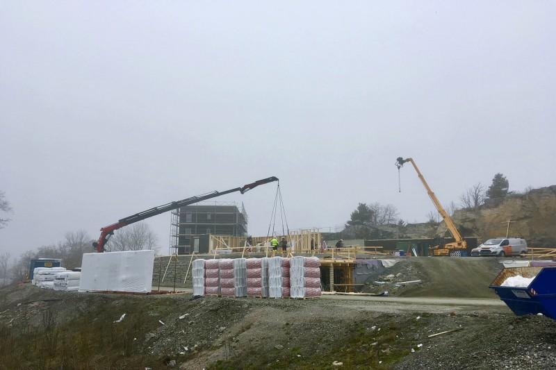 Byggeplassbesøk på Elvebredden