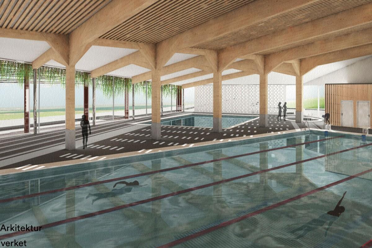 Svømmehallen i Nesparken